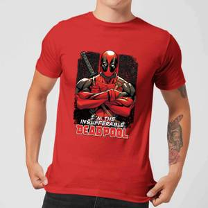Marvel Deadpool Crossed Arms T-Shirt - Red