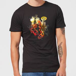 Marvel Deadpool Outta The Way Nerd T-Shirt - Black