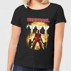 Marvel Deadpool Target Practice Women's T-Shirt - Black