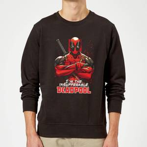 Marvel Deadpool Crossed Arms Sweatshirt - Black