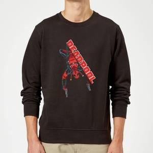 Marvel Deadpool Hang Split Sweatshirt - Black