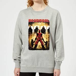 Marvel Deadpool Target Practice Women's Sweatshirt - Grey