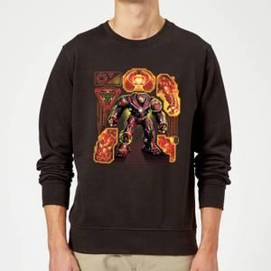 Marvel Avengers Infinity War Hulkbuster Sweatshirt - Black