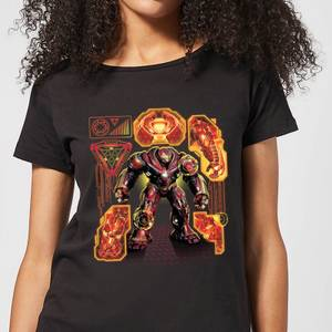 Marvel Avengers Infinity War Hulkbuster Women's T-Shirt - Black