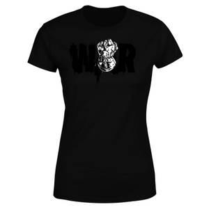 T-Shirt Femme Avengers Infinity War ( Marvel) War Fist - Noir