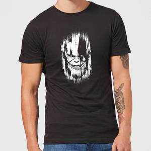 Marvel Avengers Infinity War Thanos Face T-Shirt - Black