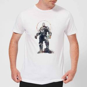 Marvel Avengers Infinity War Thanos Sketch T-Shirt - Weiß