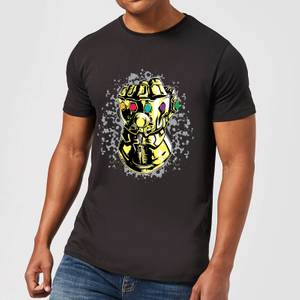 T-Shirt Homme Avengers Infinity War ( Marvel) Fist Comic - Noir