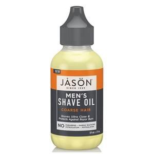 JASON Men's Shave Oil - Coarse Hair