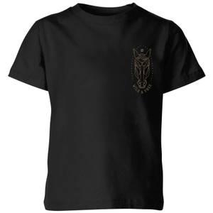 Wild And Free Kids' T-Shirt - Black