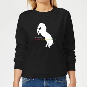 The Original Unicorn Women's Sweatshirt - Black