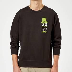 Go Luck Yourself Sweatshirt - Black