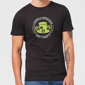 I Kissed A Leprachaun And I Liked It T-Shirt - Black
