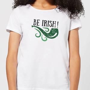 Be Irish Women's T-Shirt - White