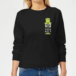 Go Luck Yourself Women's Sweatshirt - Black