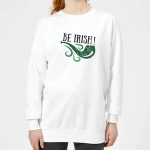 Be Irish Women's Sweatshirt - White