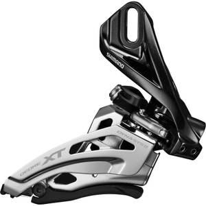 Shimano Deore XT M8020-D Double Front Derailleur - Direct Mount - Side Swing - Front Pull