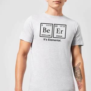 Be Er It's Elemental T-Shirt - Grey