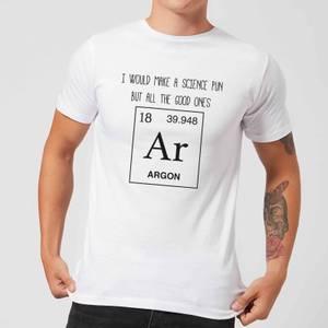 Periodic Pun T-Shirt - White