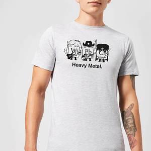 Heavy Metal T-Shirt - Grey