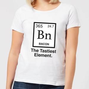 Bacon Element Women's T-Shirt - White