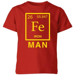 Fe Man Kids' T-Shirt - Red