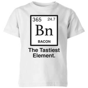 Bacon Element Kids' T-Shirt - White