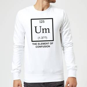 The Element Of Confusion Sweatshirt - White
