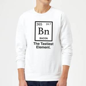 Bacon Element Sweatshirt - White