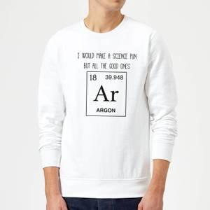 Periodic Pun Sweatshirt - White