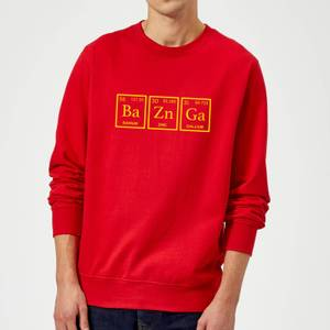 Ba Zn Ga Sweatshirt - Red