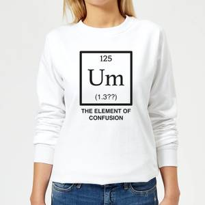 The Element Of Confusion Women's Sweatshirt - White