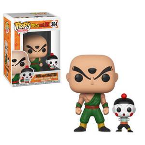 Dragon Ball Z - Tensing e Jiaozi Figura Pop! Vinyl