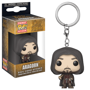The Lord of the Rings Aragorn Funko Pop! Vinyl Keychain
