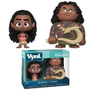 Disney Maui and Moana Funko Vynl.