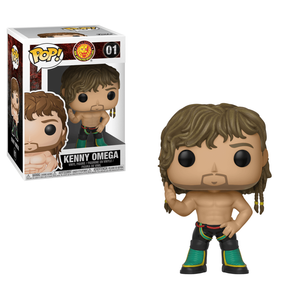 New Japan Pro-Wrestling Bullet Club Omega Funko Pop! Vinyl