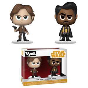 Solo: A Star Wars Story Han & Lando Funko Vynl.