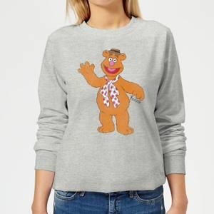 Disney Muppets Fozzie Bear Classic Women's Sweatshirt - Grey