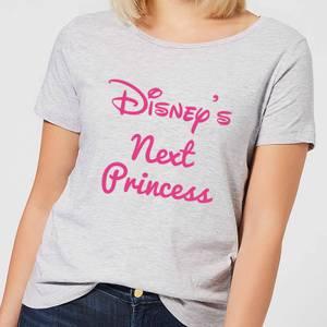 Disney Next Princess Dames T-shirt - Grijs