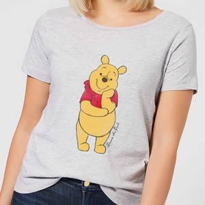 T-Shirt Femme Winnie l'Ourson Disney - Gris