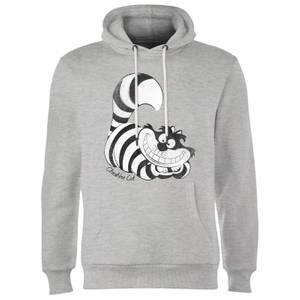 Disney Alice In Wonderland Cheshire Cat Mono Hoodie - Grey