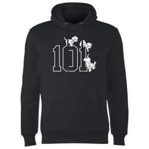 Disney 101 Dalmatiner 101 Doggies Kapuzenpullover - Schwarz