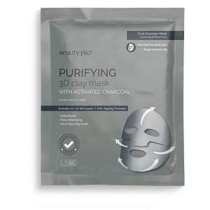 Mascarilla de barro 3D purificante de BeautyPro