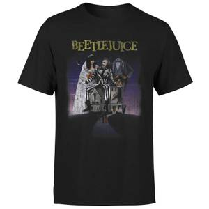 Beetlejuice Distressed Poster T-Shirt - Black