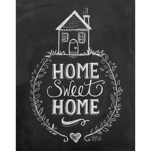 Lily & Val Home Sweet Home Print
