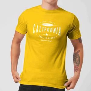 Native Shore Men's California T-Shirt - Yellow