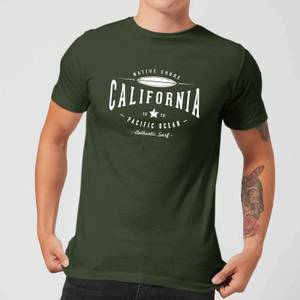Native Shore Men's California T-Shirt - Forest Green