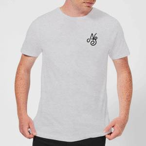 Native Shore Men's Essential Script T-Shirt - Grey