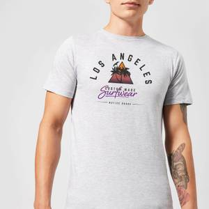 T-Shirt Homme Los Angeles Surfwear Native Shore - Gris