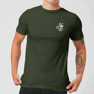 Native Shore Men's Essential Script T-Shirt - Forest Green
